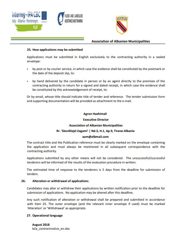 Technical Expertise for floods and landslides prevention – IT Web Design and Maintenance Experts – Online Platform